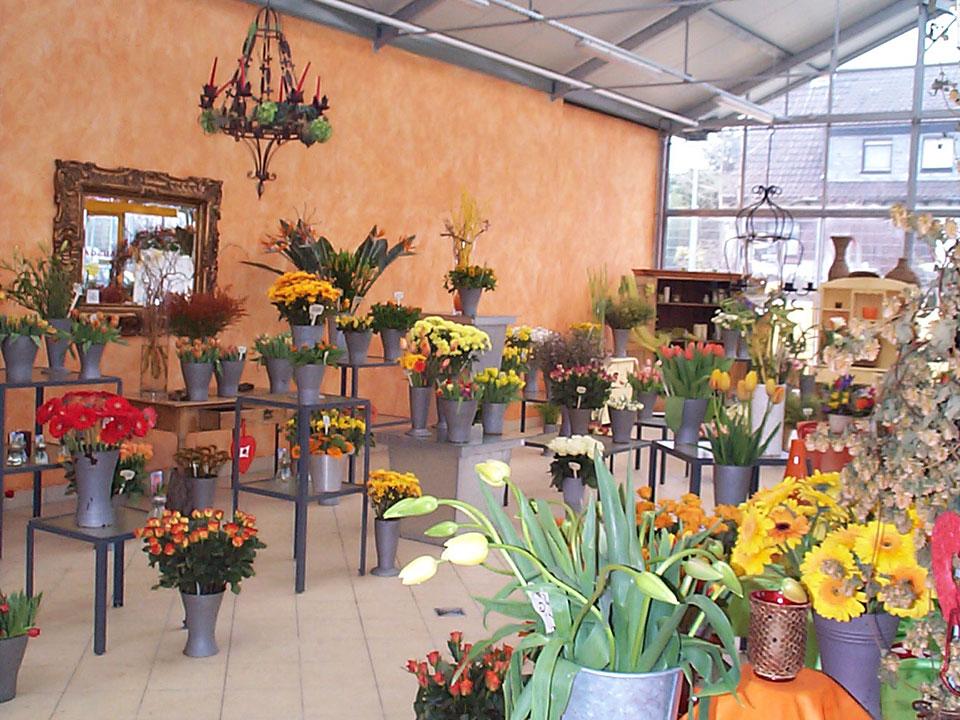 Rundgang durch das Blumenhaus Smedla - Gärtnerei und Blumenladen in Mainz